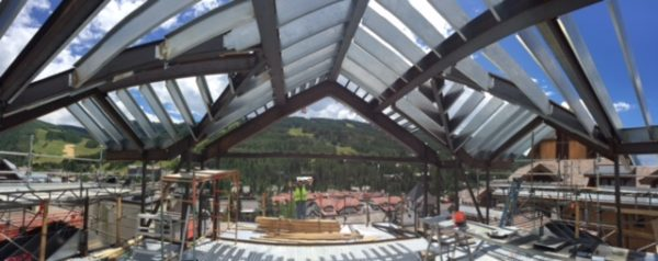 Structural Framing Metal Roof