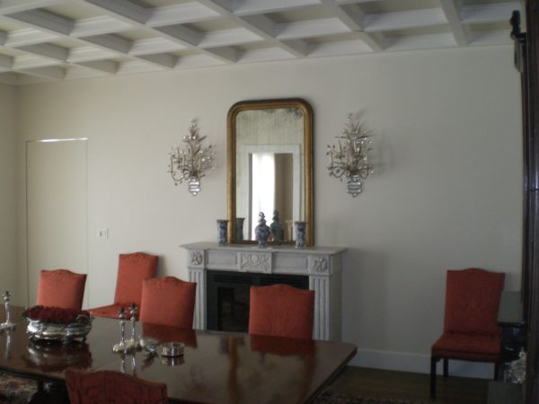 Residential Coffered Ceiling
